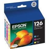 Epson DURABrite 126 Ink Cartridge - Cyan, Magenta, Yellow - T126520S