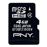 PNY P-SDU4GB4-EF/BB microSD High Capacity (microSDHC)