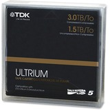 "1/2"" Ultrium LTO-5 Cartridge, 2775ft, 1.5TB Native/3TB Compressed Capacity  MPN:61857"