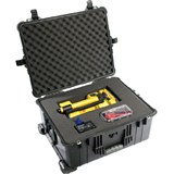 Pelican 1610 Travel Case - Stainless Steel