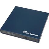 Digital Treasures 07189 External DVD-Writer - Retail Pack - Navy