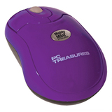 PC Treasures Mighty Mini Mouse - Optical Wireless - Radio Frequency - Purple