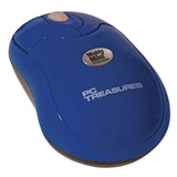 PC Treasures 07228 Mouse - Optical Wireless - Radio Frequency - Navy Blue
