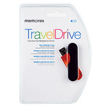 Memorex TravelDrive 98150 Flash Drive - 4 GB