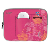 iLuv iBG2000 Netbook Case - Sleeve - Neoprene - Gray