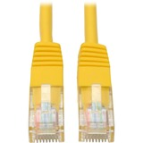 Tripp Lite N002-001-YW Category 5e Network Cable - 12' - Patch Cable - Yellow