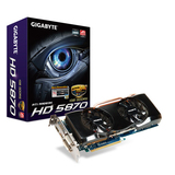 GIGA-BYTE GV-R587OC-1GD Radeon HD 5870 Graphics Card - PCI Express 2.1 x16 - 1 GB GDDR5 SDRAM