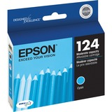 Epson DURABrite No. 124 Ink Cartridge - Cyan