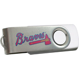Centon DataStick Swivel MLB Atlanta Braves Edition Flash Drive - 4 GB