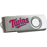 Centon DataStick Swivel MLB Minnesota Twins Edition Flash Drive - 4 GB