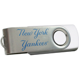 Centon DataStick Swivel MLB New York Yankees Edition Flash Drive - 4 GB