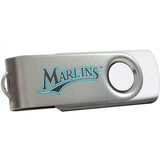 Centon DataStick Swivel MLB Florida Marlins Edition Flash Drive - 2 GB