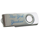 Centon DataStick Swivel MLB New York Yankees Flash Drive - 1 GB