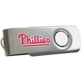 Centon DataStick Swivel MLB Philadelphia Phillies Edition Flash Drive - 4 GB