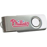 Centon DataStick Swivel MLB Philadelphia Phillies Flash Drive - 2 GB