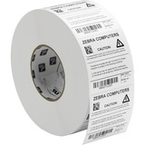 Zebra Label Polyester 2.75 x 1.25in Thermal Transfer Zebra Z-Ultimate 3000T 3 in core 10011701