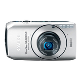 Canon PowerShot SD4000 IS 10 Megapixel Compact Camera - 4.90 mm-18.60 mm - Silver