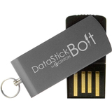 Centon Electronics 4GBDSB-GREY 4GB DataStick Bolt 4GBDSB-GREY USB 2.0 Flash Drive