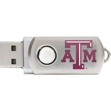 Centon DataStick Twist Texas A&M University Edition Flash Drive - 2 GB