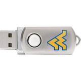 Centon DataStick Twist University of West Virginia Edition Flash Drive - 2 GB