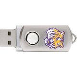 Centon DataStick Twist Collegiate Louisiana State University Flash Drive - 4 GB
