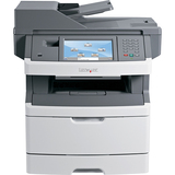 Lexmark X466DE Laser Multifunction Printer - Monochrome - Plain Paper Print - Desktop