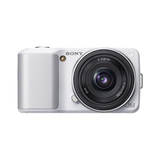 Sony alpha NEX-3 14.2 Megapixel Mirrorless Camera - Silver NEX3AS