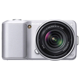 Sony alpha NEX-3 14.2 Megapixel Mirrorless Camera - 18 mm - 55 mm - Silver NEX3KS