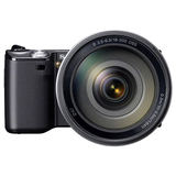 Sony alpha NEX-5 14.2 Megapixel Mirrorless Camera - 18 mm - 55 mm - Black NEX5KB