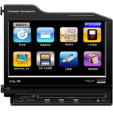 Power Acoustik PTID-8300NR Car DVD Player - 8.3 LCD - 200 W - Single DIN
