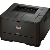 Oki B411DN LED Printer - Monochrome - Plain Paper Print - Desktop
