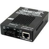 Transition Networks Just Convert-IT J/E-PSW-FX-03(SC) Media Converter