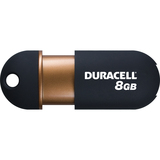 Duracell Capless DU-ZP-08G-CA-N3-R Flash Drive - 8 GB