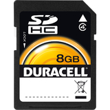 Duracell DU-SD-8192-R Secure Digital High Capacity (SDHC)