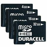 Duracell DU-2IN1-08G-R microSD High Capacity (microSDHC)