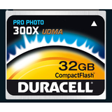Duracell High Speed DU-CF30-32G-C CompactFlash (CF) Card