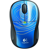 Logitech M305 Mouse - Optical Wireless - Blue