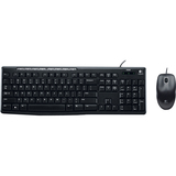 Logitech Media Combo MK200 Keyboard & Mouse - Retail