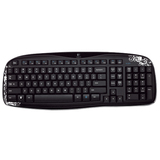 Logitech K250 Keyboard - Wireless