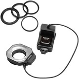 Bower Fully Dedicated E-TTL I/II Digital Macro Ring Flash for Canon Cameras SFD14C