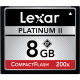 Lexar Media Platinum II LCF8GBBSBNA200 8 GB CompactFlash (CF) Card - 1 - LCF8GBBSBNA200