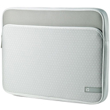HP Carrying Case (Sleeve) for Notebook - Silver WW555AA#ABL