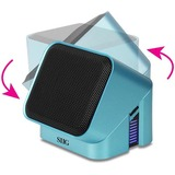 SIIG SoundWare MiniCube Speaker System - Blue