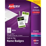 Avery 74554 Name Badge Insert - 2.25' x 3.50'