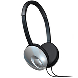 Maxell 190248 - UTS Headphone - Stereo - Silver