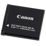 Canon NB-8L Camera Battery - 740 mAh - 4267B001