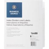 Business Source Laser Printer Index Divider 16488