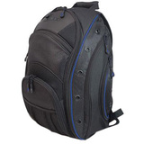 Mobile Edge MEEVO3 Notebook Case - Backpack - Ballistic Nylon - Black, Blue