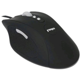 Rude Gameware RUDE-200 Mouse - Laser Wired - Black