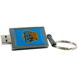 Centon DataStick Keychain University of California - Los Angeles Edition Flash Drive - 4 GB